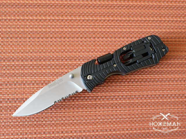 Нож Kershaw Select Fire black serrated