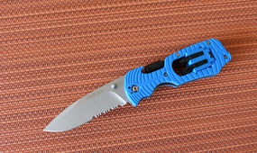 Нож Kershaw Select Fire blue serrated