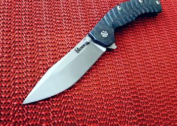 Нож Kizer Panthura Ki4443Ti2 видео обзор