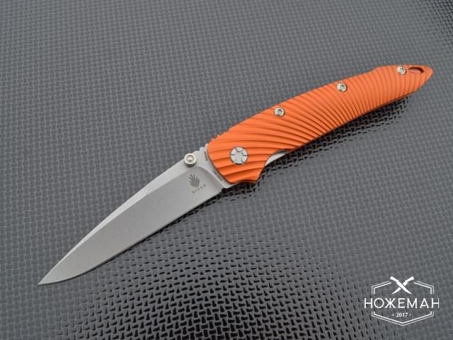 Нож Kizer Sliver Sunburst orange