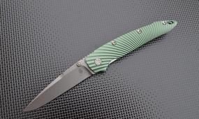 Нож Kizer Sliver Sunburst green