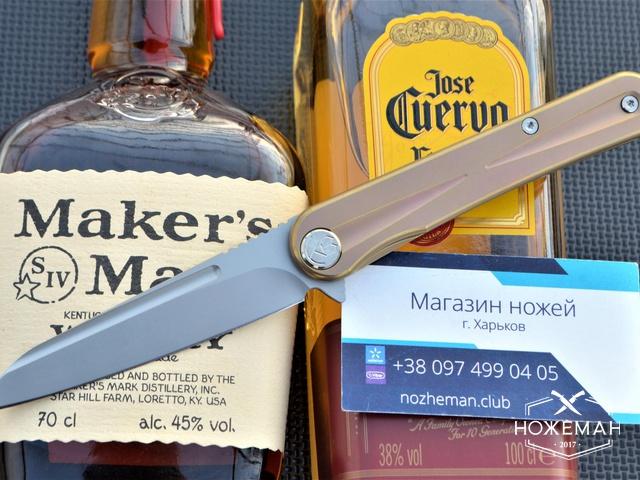 Нож Kubey Dandy designed by Max Tkachuk