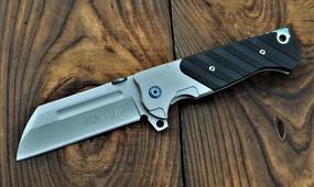Нож реплика Andre de Villiers Custom Butcher V2 Flipper G10