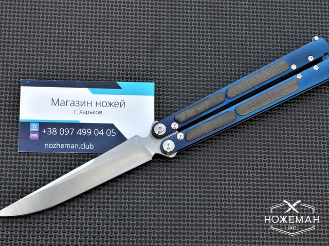 Нож бабочка на подшипниках Maxace Covenant Balisong (реплика)