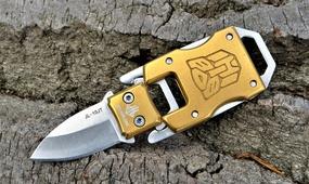 Нож на ключи трансформер Optimus