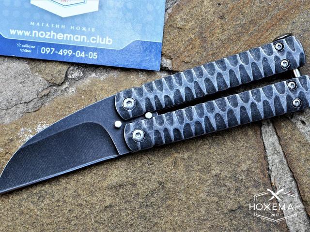 Нож бабочка Nathan Dewey Custom Gremlin Mini Balisong
