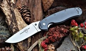 Нож Ontario Rat 1 carbone fiber