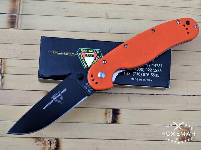 Нож Ontario Rat Folder Model 1 крыса