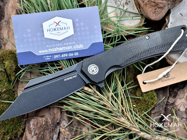 Нож Petrified Fish Pioneer