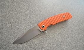 Нож Python F95 orange