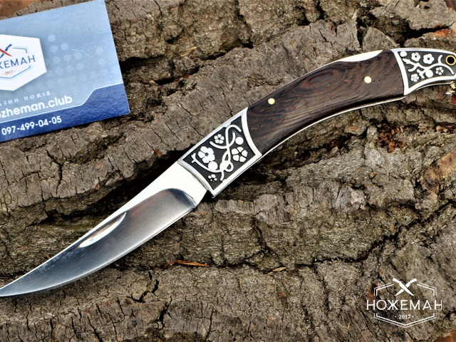 Нож раскладной Шамшир