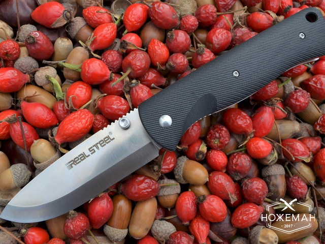 Нож Real Steel Bushcraft Folder 3716
