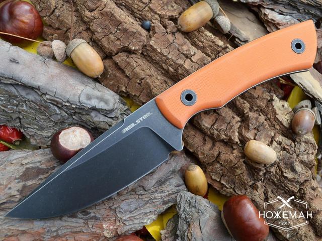 Охотничий нож Real Steel Forager 3751