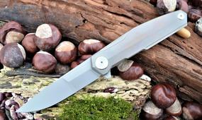 Нож Real Steel S3 Puukko Flipper cold copper 9512
