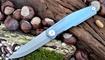 Нож Real Steel S3 Puukko Front Flipper sky purple 9522