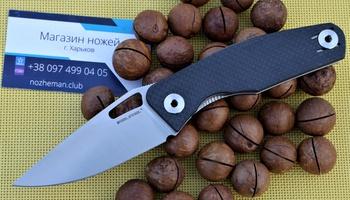 Нож RealSteel Terra Carbon Fiber