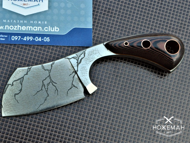 Нож шейный Pearl Crack Cleaver TC010