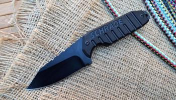 Нож шейный Shrade SCHF16