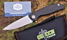 Нож Широгоров Флиппер 95 Хати Green Thorn