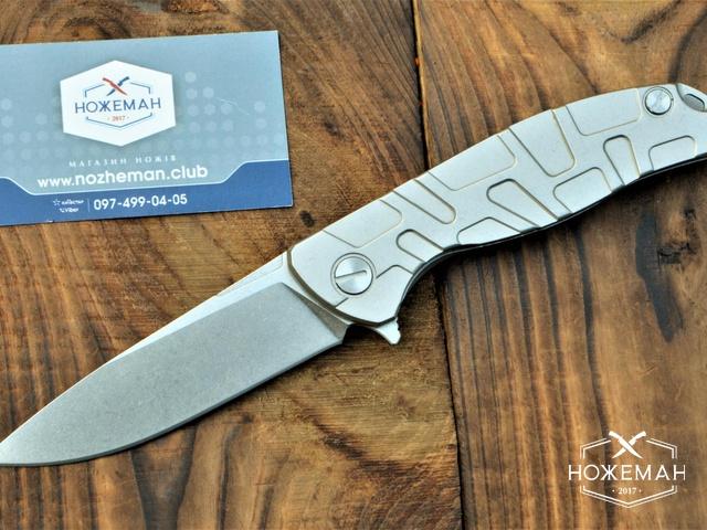Нож Широгоров Флиппер 95 узор «Т»