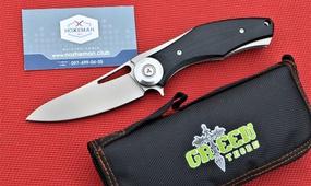 Нож Широгоров Темный Green Thorn