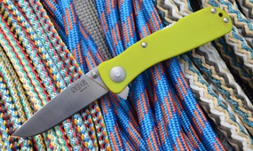 Нож SOG Twitch II fruit green
