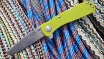 Нож SOG Twitch II fruit green