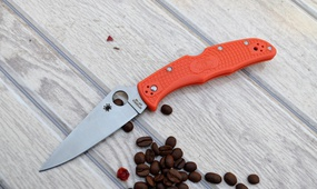 Нож Spyderco Endura C10 orange