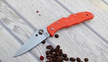 Нож Spyderco Endura C10 orange