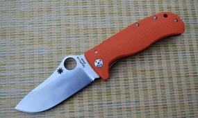 Нож Spyderco Lionspy orange