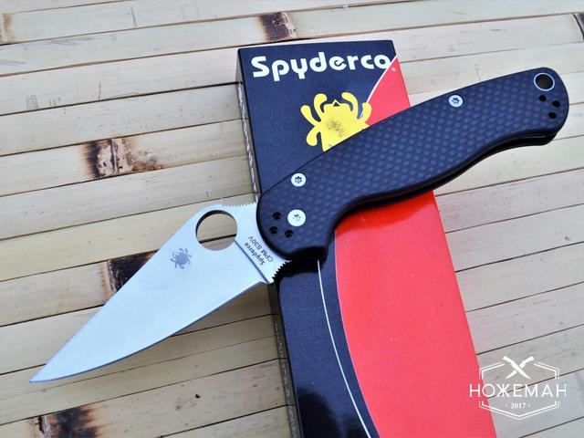Нож Spyderco Para-Military 2 C81 carbone