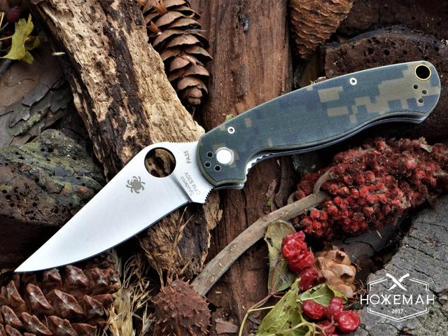 Нож Spyderco Para-Military Liner Lock