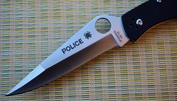 Нож Spyderco Police G10