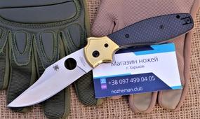 Нож Spyderco Schempp Bowie C190CF