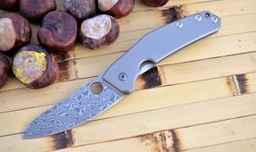 Нож Spyderco SpydieChef дамаск