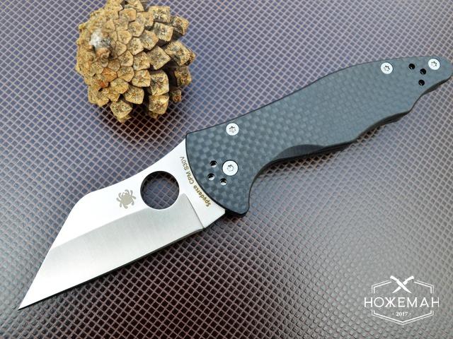 Нож Spyderco Yojimbo carbon fiber