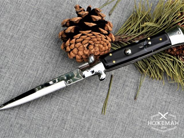 Нож стилет AKC 10-inch имитация рога
