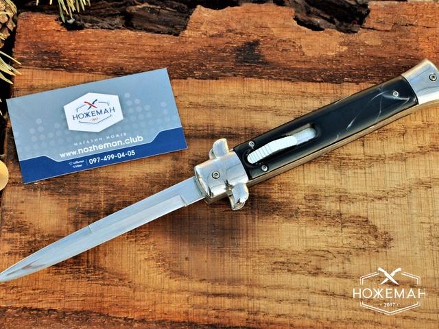 Нож стилет фронтального выброса