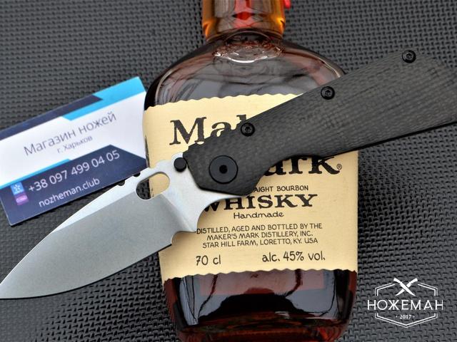 Нож Strider Custom SMF Carbon