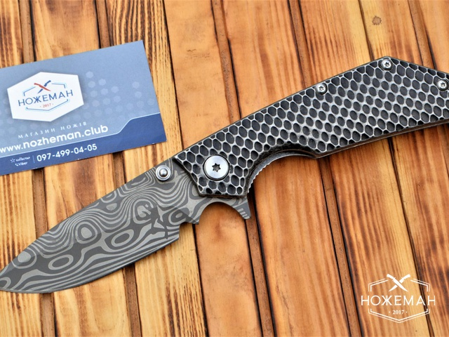 Нож Strider Damascus