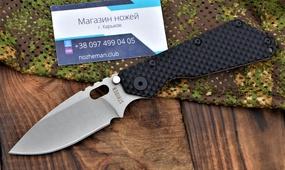 Нож Strider SMF Gunner Grip Titanium
