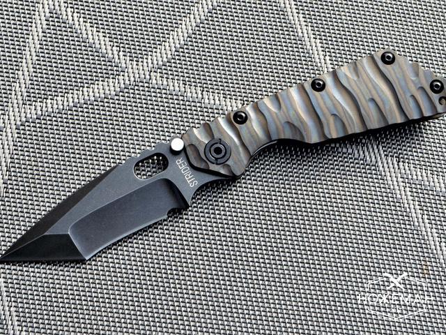 Нож Strider SMF06 TITANIUM WAVE