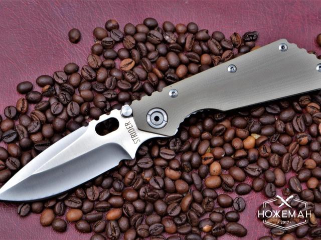 Нож Strider SnG G10 khaki