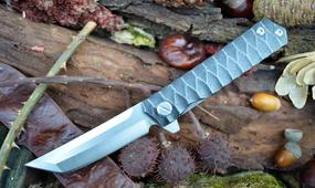 Нож танто  steel folder