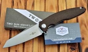 Нож TwoSun TS27 Zenith Micarta