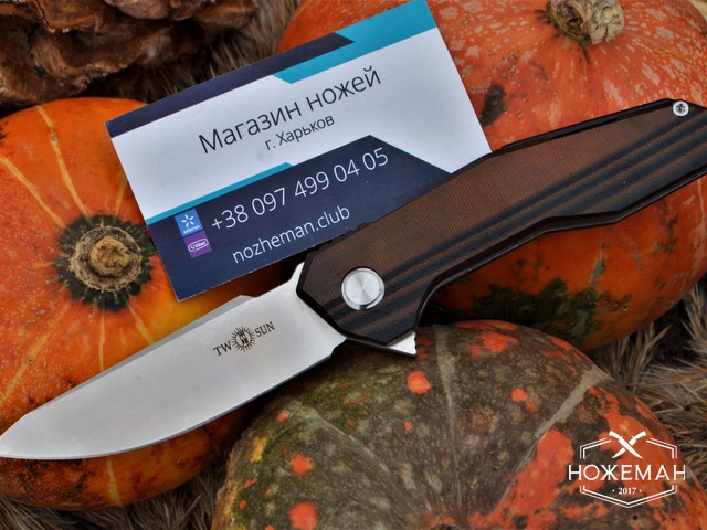 Нож TwoSun TS42 G10