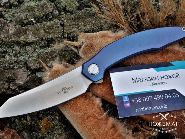 Нож TwoSun TS51 Curve 2019 Edition