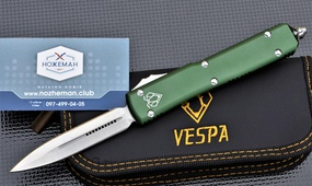 Нож Vespa Ultratech D/E OTF Automatic Knife OD Green CC