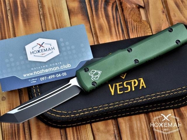 Нож Vespa Ultratech T/E OTF OD Green CC
