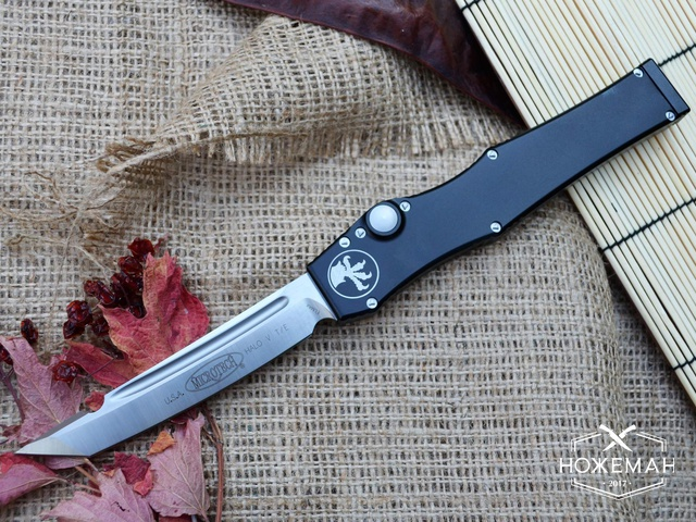 Нож выкидной Microtech Halo V лучшая копия